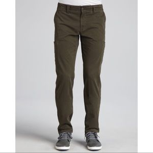 Vince Men's Twill Cargo Pants Military Green